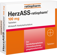 HERZASS ratiopharm 100 mg Tabletten