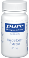PURE ENCAPSULATIONS Heidelbeer Extrakt 80 mg Kaps.